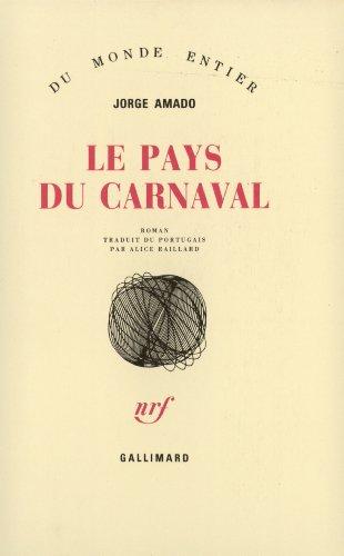 Le Pays Du Carnaval [Pdf/ePub] eBook