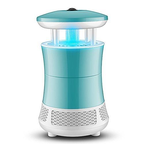 Bug Fly Mosquito eléctrico Zapper, Mata Mosquitos Eléctrico Mata Insectos con Luz Ultravioleta USB LED, Sin Productos Químicos (Azul)