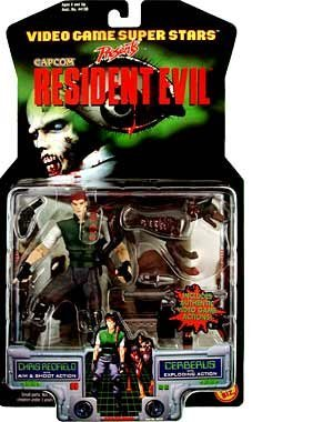Resident Evil  Chris Redfield with Cerberus Action Figure 2-Pack by Resident Evil