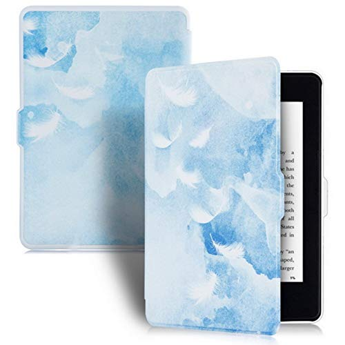 DATOUDATOU PU-Überzug Ledertasche für Kindle Paperwhite 5 Generation schützende E-Reader Fall 6 Zoll Mode 3