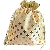 Meher Collection Women's Polka Dot Potli Bags for Return Gifts Wedding Gift for mom Potli Purse Gift Bags Fancy Potli…