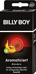 Idea Regalo - Billy Boy colorato e fruttato aromatizzato preservativi, pezzi