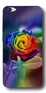 SEI HEI KI Silicon Printed Designer Back Cover For Vivo V5 - Multicolor