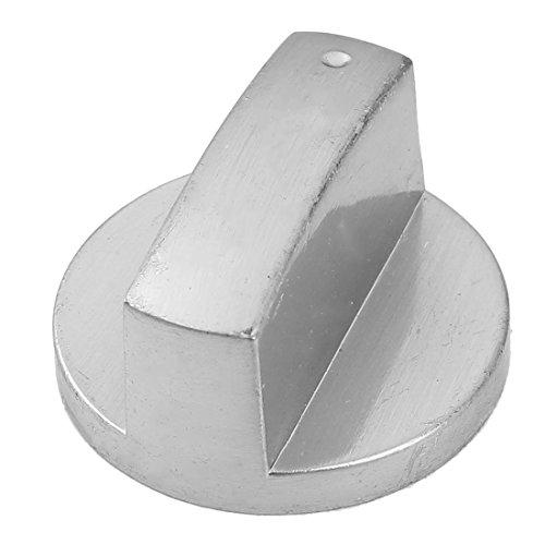Metall Herd Backofen Steuerung Dreh Gasherd Bereich Schalter Knöpfe Silber Ton (Elektro-backofen Bereich)