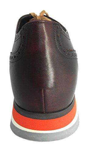 ZERIMAR Chaussures réhaussantes intérieur pour messieurs Augmentation 7+ cm Cuir, respirant, confortable Coleur cuir Cuir
