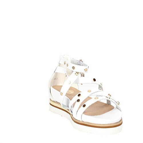 Laura Biagiotti 506 Sandal Damen Weiss/Gold