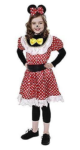 Neue Minnie Mouse Kinder Kostüm 10-12