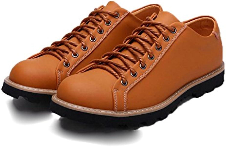Retro Casual Herramientas Hombres Cuero Zapatos Moda Zapatos De Hombre -