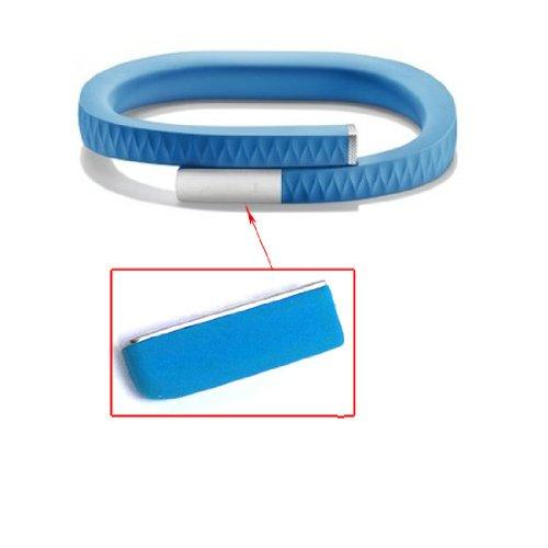 Preisvergleich Produktbild 1pc Ersatzcap Kappe Abdeckung für Jawbone UP 2. Gen 2.0 Armband (Blau)