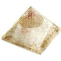 Orgonite Pyramide mit Metall Blume des Lebens Heilige Geometrie Symbol–Energetische preisvergleich bei billige-tabletten.eu