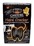 QCHEFS Hard Cracker 7er | Hunde Zahnpflege-Snack| Kauknochen Welpen & klein- zum Kauen & Spiel | gegen Mundgeruch & Zahnfleischentzündung & Zahnstein| | Leckerli| Hüttenkäse - natürlich antibakteriell
