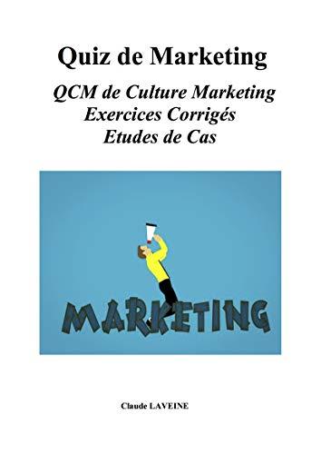 Couverture du livre Quiz de Marketing