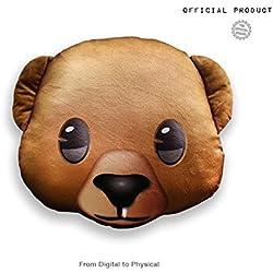 Emoji - Cojín Impreso Oso Oficial (PIW_BEAR_PT)