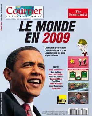 Courrier international / The Economist, Hors-série n°26 : le monde en 2009 : enjeux politiques - Scénario de la crise - Prévisions par pays et par secteurs