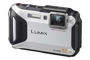 Panasonic DMC-FT 5 Lumix appareil photo numérique (écran LCD 7,5 cm (3 pouces) Capteur MOS, 16,1 mégapixels, zoom optique 4,6 fois, MicroHDMI, USB, étanche à 13m) argent