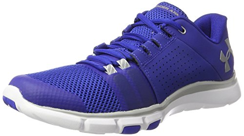 Under Armour Herren UA Strive 7 Hallenschuhe, Blau (Royal 401), 42.5 EU