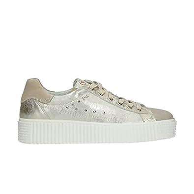 Nero Giardini Sneakers Basses Femme - Beige - Savana, 37 EU EU