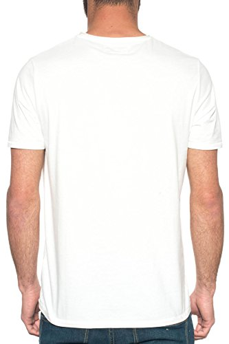M C S Herren T-Shirt weiß Bianco Bianco