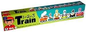Barbo Toys Classic Barbo Toys Puzzle de Suelo Tren de números 5948