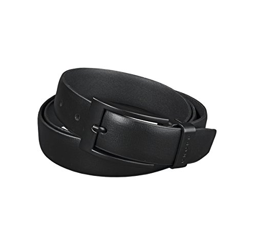 Cross Men's Classic Century Formal Genuine Leather Formal Belt (30mm Buckle) with Free Cross Key Ring (AC018151-1 _ Black _XX-Large)