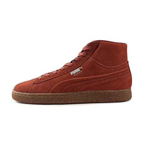 Puma Suede Mid Emboss Sneakers Arabian Spice/Oatmeal