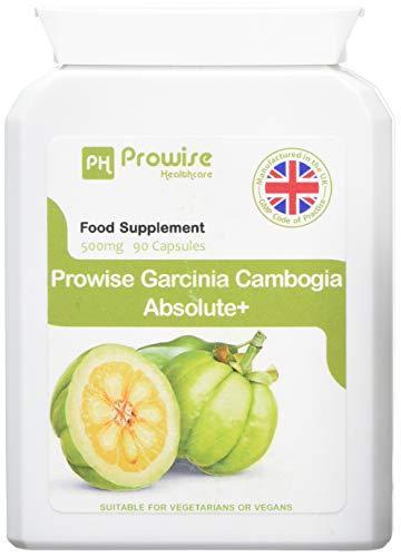 Garcinia Cambogia Ganze Frucht 500mg 60 Kapseln - UK hergestellt Hochwertige Nahrungsergänzung - Gmp Qualität gesichert - Geeignet für Vegetarier & Veganer
