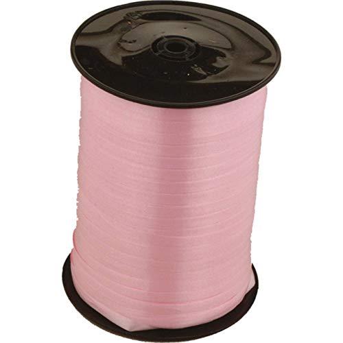 Amscan CR1002 - Cinta decorativa para globos (500 m x 5mm), color rosa