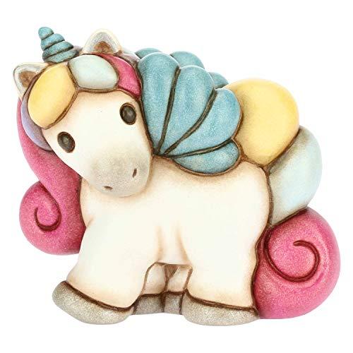 THUN  - Unicorno Piccolo - Ceramica - h 8,6 cm - Linea I Classici