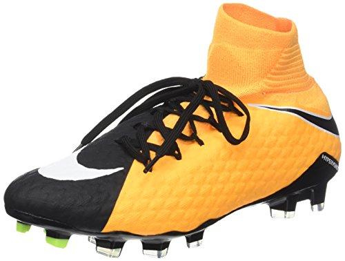Nike Herren Hypervenom Phatal III Dynamic Fit (FG) Fußballschuhe, Orange (Laser Orange/White-Black-Volt-White), 42 EU (Nike Herren Kurze Socken)