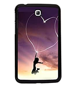 printtech Heart Light Girl Back Case Cover for Samsung Galaxy Tab 3 7.0 :: Samsung Galaxy Tab 3 T211 P3200