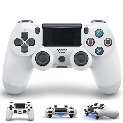 BGAME Wireless Joystick Gamepad für PS4 Playstation 4, Wireless Gamepad Dualshock mit Anschluss und Touchpad,White