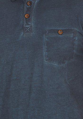 !Solid Termann Herren Polo-Shirt Polokragen Kurzarm Aus 100% Baumwolle Insignia Blue (1991)