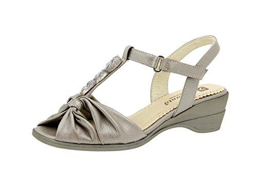 Piesanto Modell 2557 - Sandale Leder für die Frau Titan