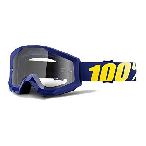 100% stata Brillen Hope – Clear Lens Motocross MotoX Tearoff Dirt Enduro Bike 100 Dirt Bike Gear