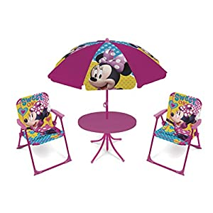 Arditex WD12602U - Juego de jardín 4 en 1, diseño de Minnie Mouse