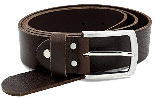 6999bbbe407283 Vollledergürtel aus robusten Büffelleder, 38mm breit und ca. 3 - 4mm stark,  kürzbar