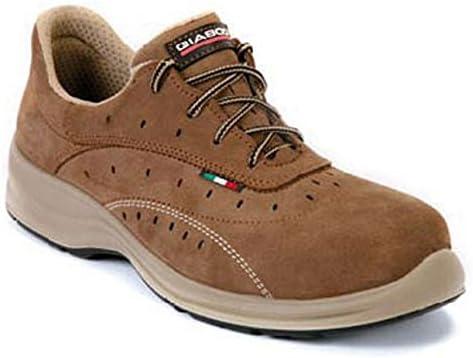 Giasco Agadir - Calzado de protección laboral, talla 43, color marrón