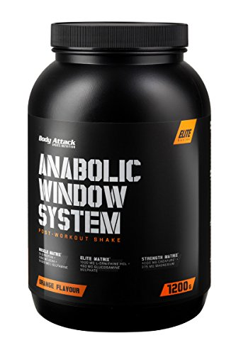 #Body Attack Anabolic Window System, Orange, 1er Pack (1 x 1200g)#