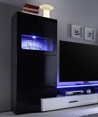 Multimediacenter schwarz Hochglanz - 3