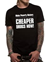 Loud Distribution Loud Clothing - Cheaper Drugs Logo Men's T-Shirt