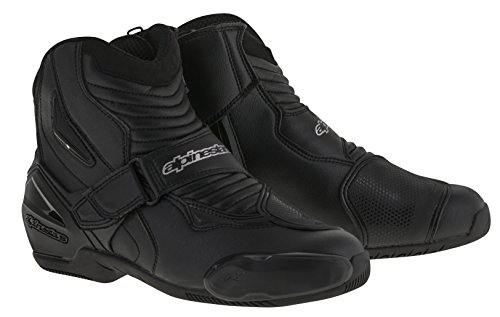 Alpinestars SMX-1R Men's Street Motorcycle Boots - Black/White / 46 Mens Street Motorcycle Boots