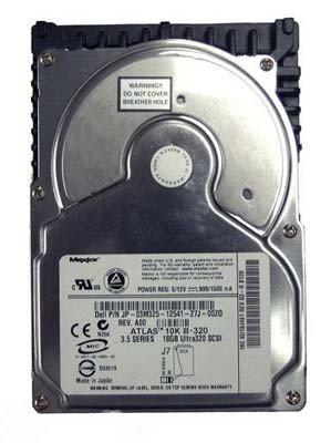 Maxtor Atlas 10K III 73GB 8,9cm ULTRA3SCSI Festplatte HDD kw73j4612G341Dell -