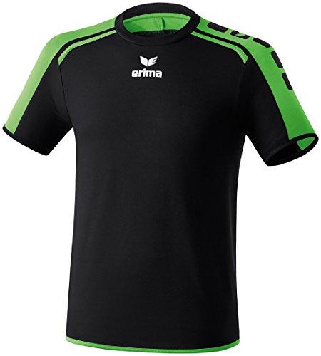 Erima Erwachsene Trikot Zenari 2.0, Schwarz/Green, L