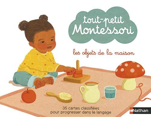 Tout petit Montessori - cartes classifiées : les objets de la maison - Dès 15 mois par Adeline Charneau