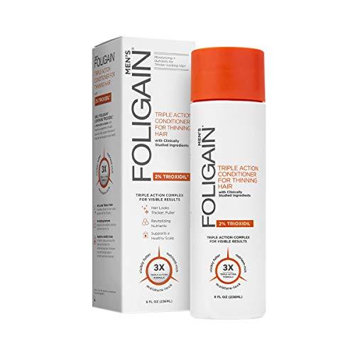 Foligain la ricrescita dei capelli condizionatore per uomini con 2% Trioxidil