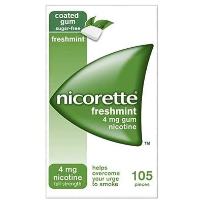 Nicorette Freshmint Gum 4mg 105 per pack from Nicorette