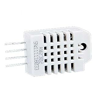 Ecloud Shop DHT22/AM2302 Capteur Numérique Température Humidité ±0.5 °C