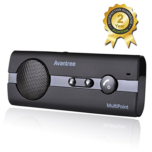 Avantree Kit Vivavoce Bluetooth per Auto 4.0...