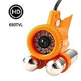 Fischfinder Kamera Unterwasserkamera HD-Unterwasserkamera mit Fill Light LED-Nachtsicht und Super...