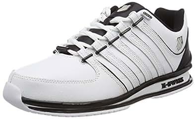 K-Swiss Rinzler SP, Sneakers Basses Homme, Noir (Black), 44 EU